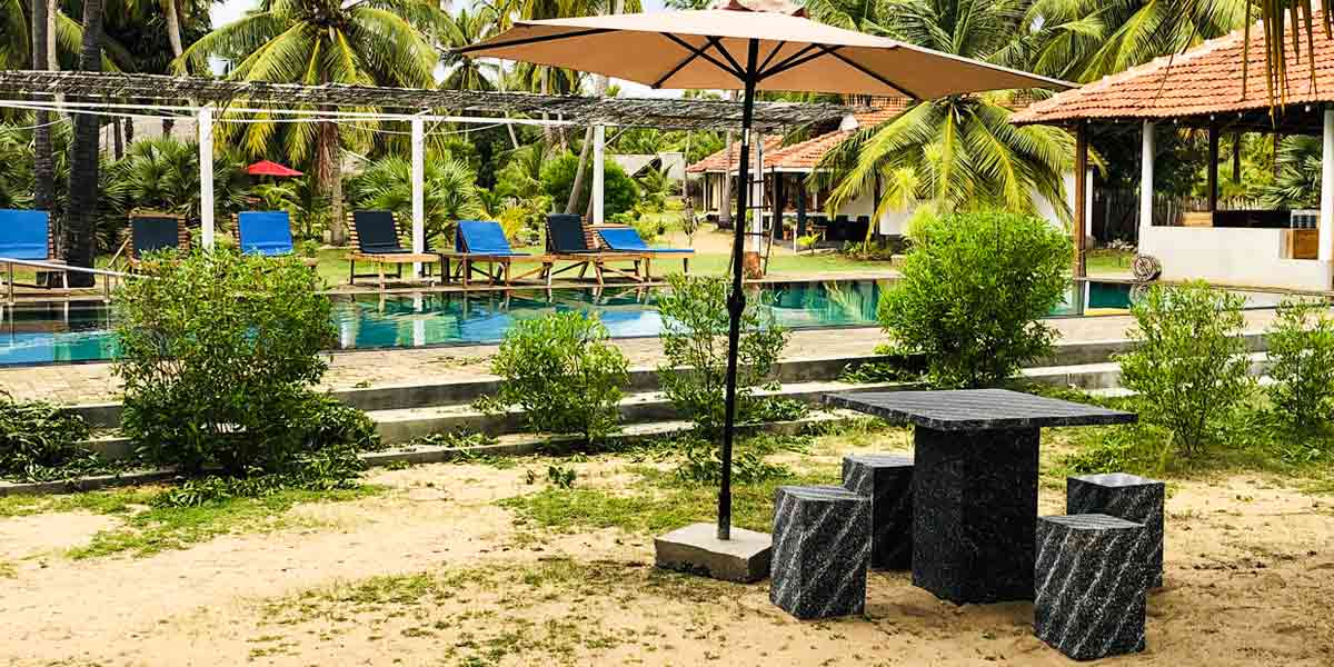 Valampuri Resort pool View